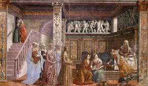 1024px-Birth_of_St_Mary_in_Santa_Maria_Novella_in_Firenze_by_Domenico_Ghirlandaio