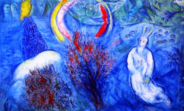 Chagall_Brennende-Dornbusch